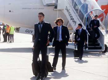 La Selección Mexicana de futbol llegó hoy a Río de Janeiro para