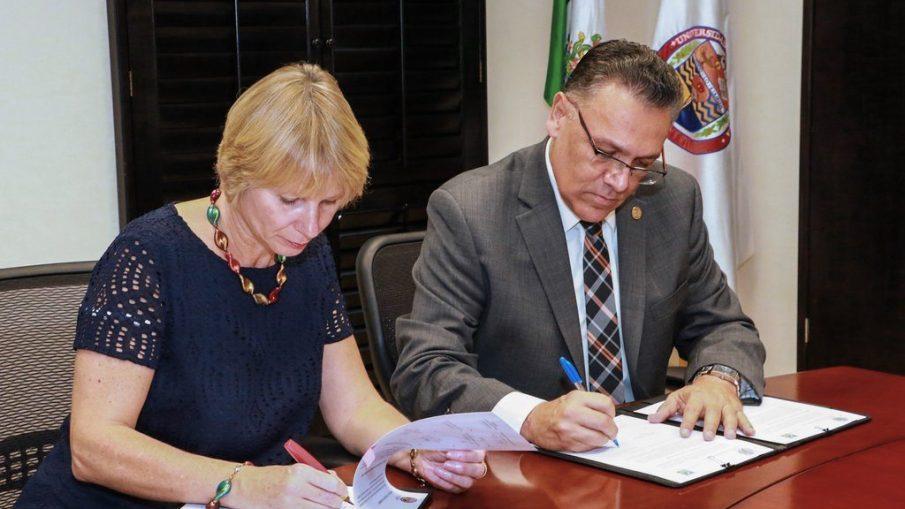 Firman carta de intención Universidad de Sonora y Universidad de Bonn